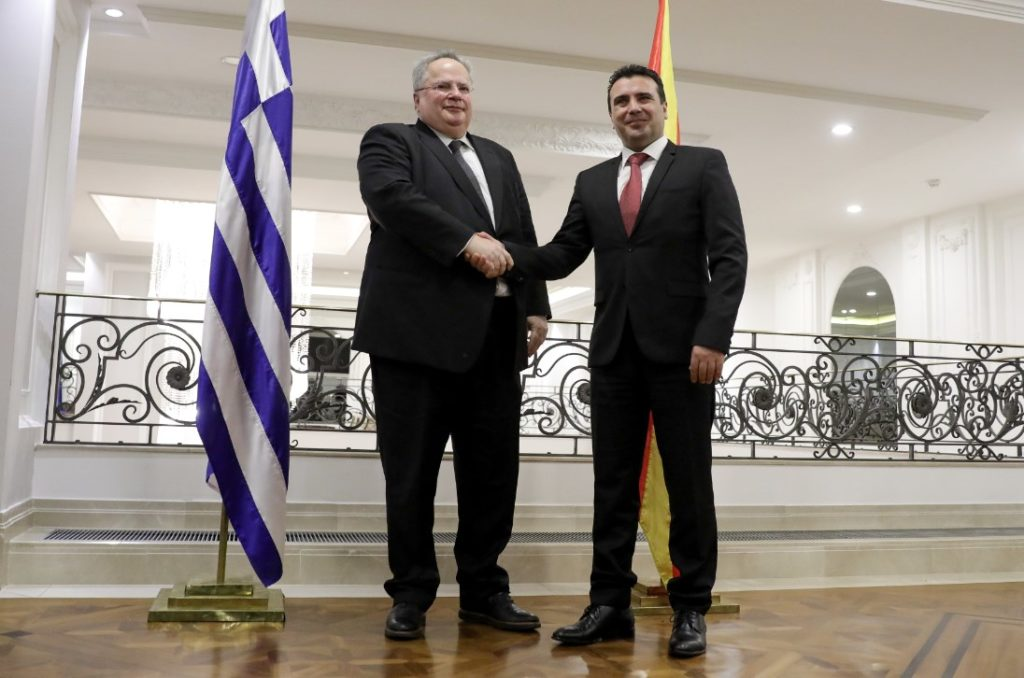 Ο Κ. Ζαχαριάδης για τις διαπραγματεύσεις με τα Σκόπια
