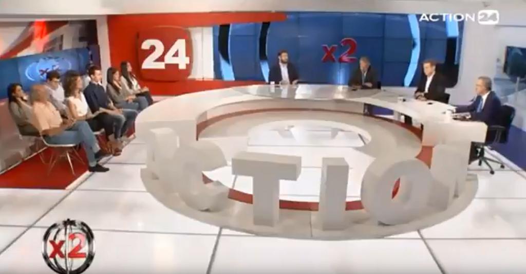 Εφ' όλη της ύλης ο Κώστας Ζαχαριάδης στο Action24 (vids)