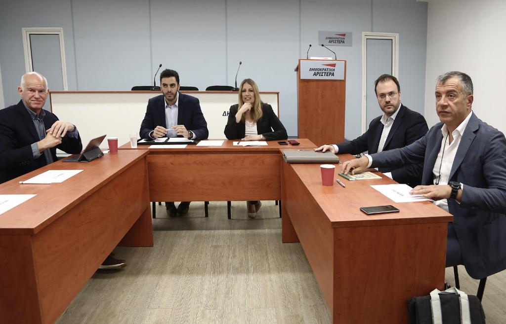 Ο Κ. Ζαχαριάδης απαντά στα περί συνεργασίας με το ΚΙΝΑΛ