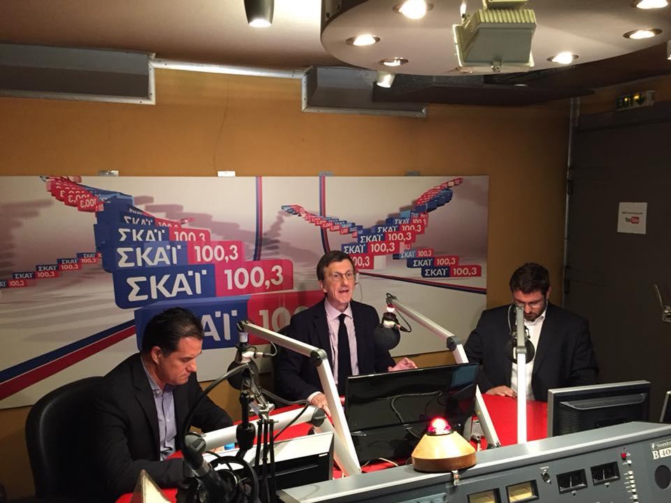 Ο Κ. Ζαχαριάδης για την πολιτική επικαιρότητα στον ΣΚΑΙ (vids)